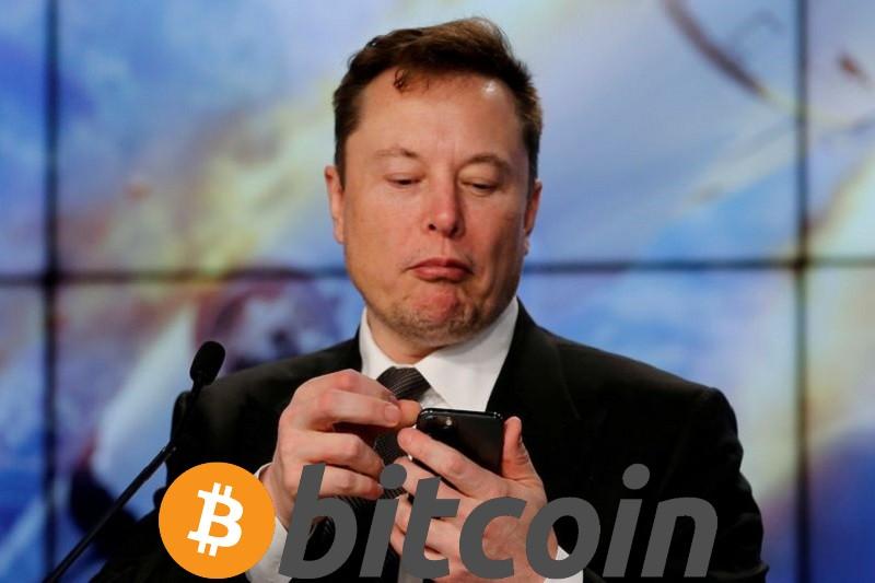 Elon Musk tweet sobre Bitcoin