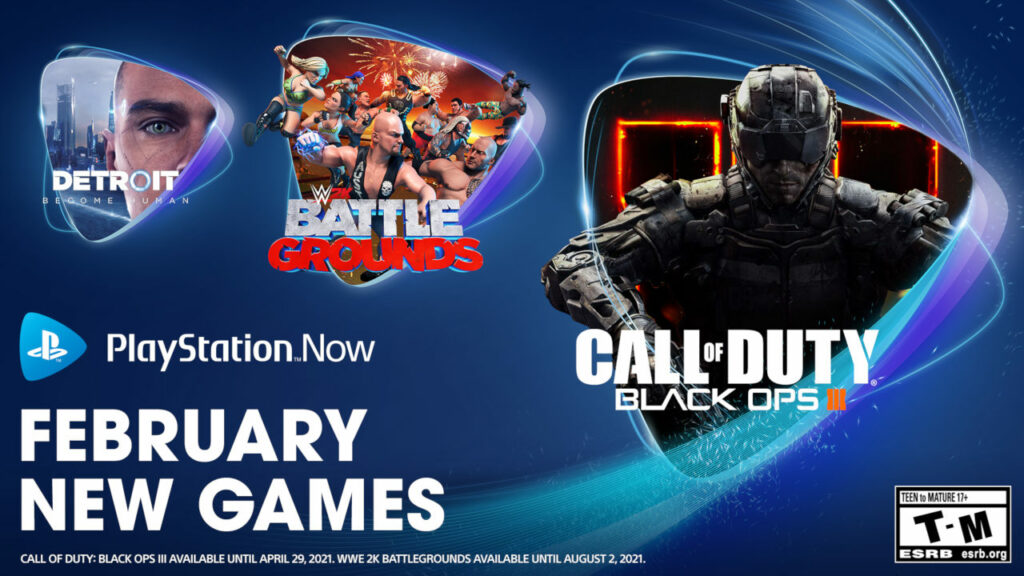 PlayStation Now: confirma juegos para febrero