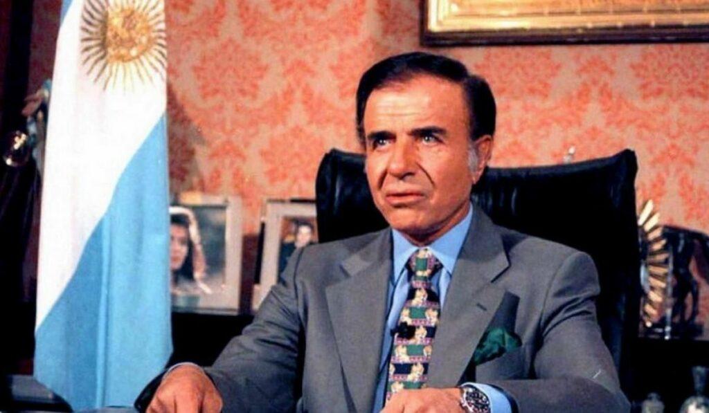 Expresidente de Argentina Carlos Menen ha fallececido