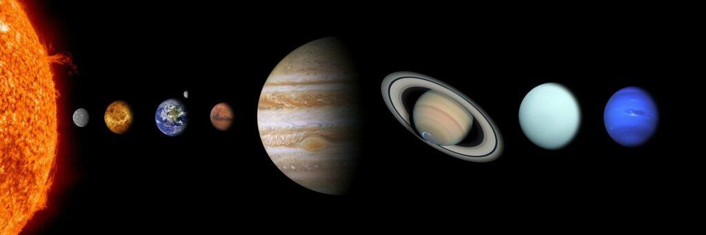 Exoplaneta WASP-107b (Júpiter) sistema solar