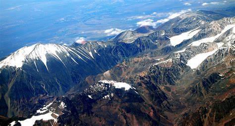 América Cordillera de los Andes