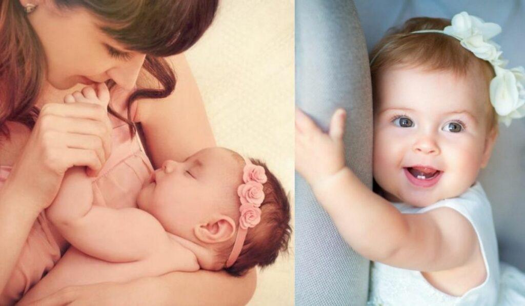 Nombres para niñas bonitos y consejos que debes tener en cuenta