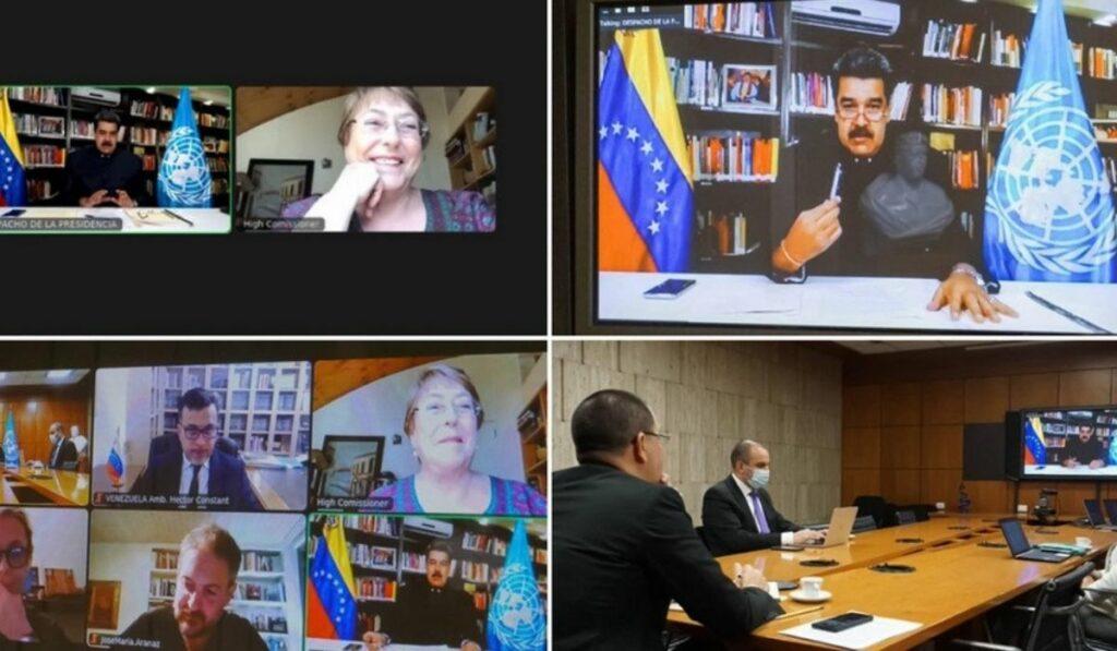 Reunión entre Nicolás Maduro y Michelle Bachelet causa polémica