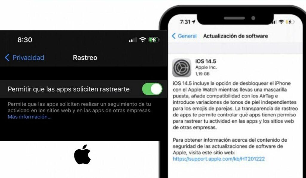 Apple lanza iOS 14.5 ¿Porque facebook queda afectado?
