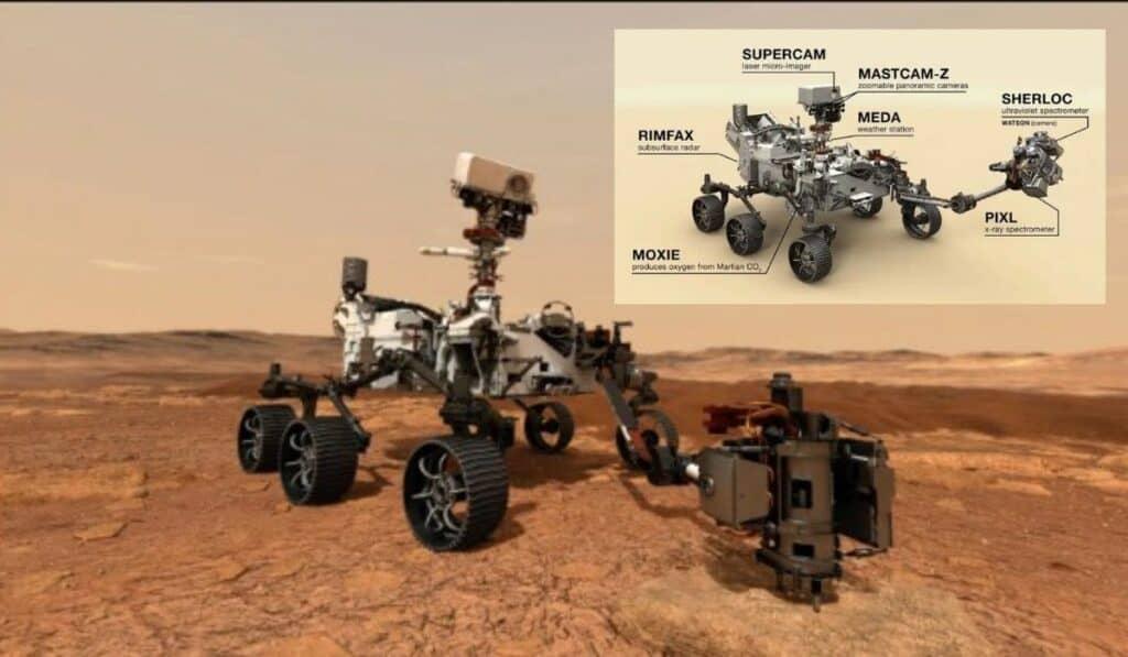 El Moxie Adherido al Perseverance un hito al producir oxígeno en Marte