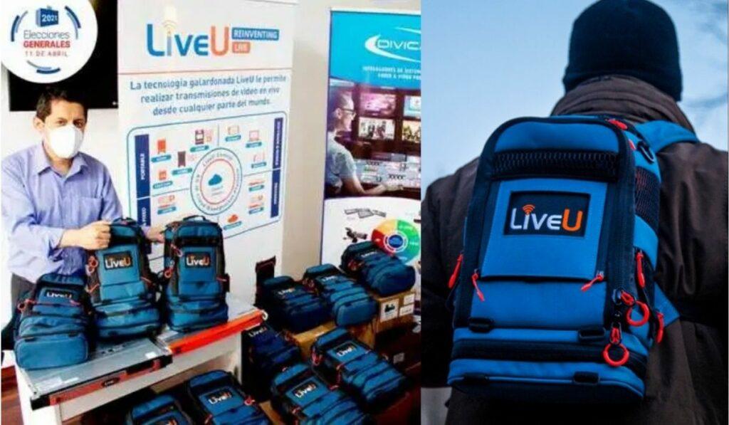 LiveU la plataforma tecnológica soporte en transmisión en las elecciones de Perú y Ecuador