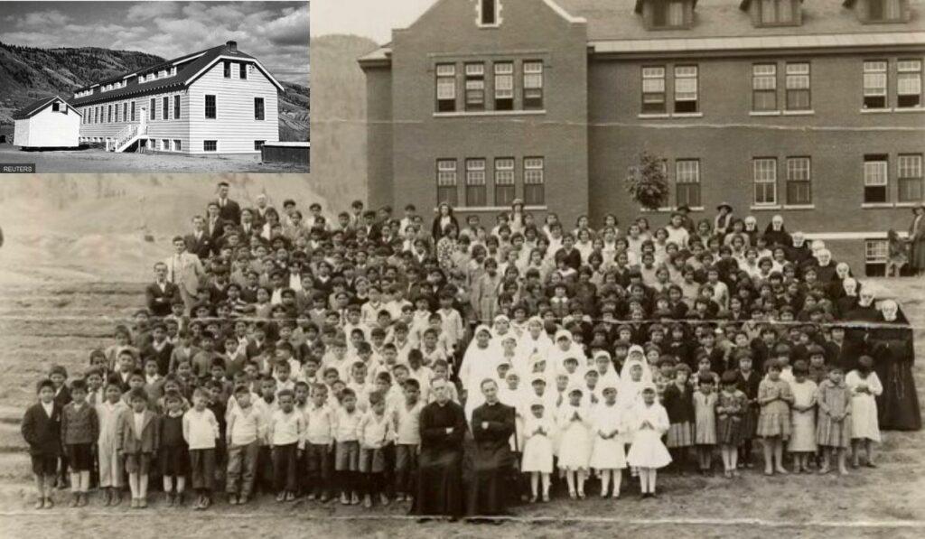 Conmoción en Canadá: Descubrierón restos de 215 niños en un internado