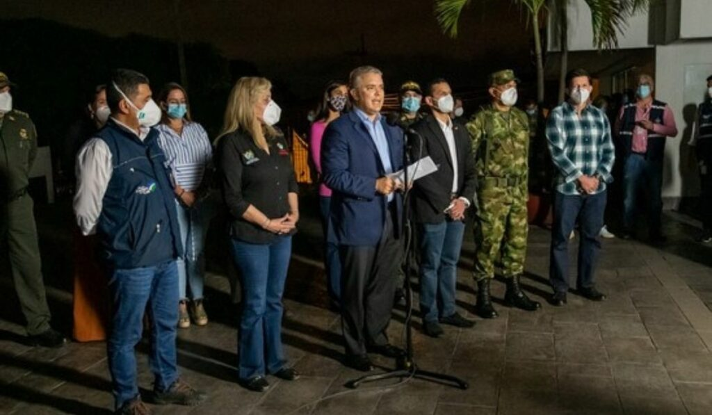 Iván Duque anuncia la militarización en el Valle del Cauca y Cali