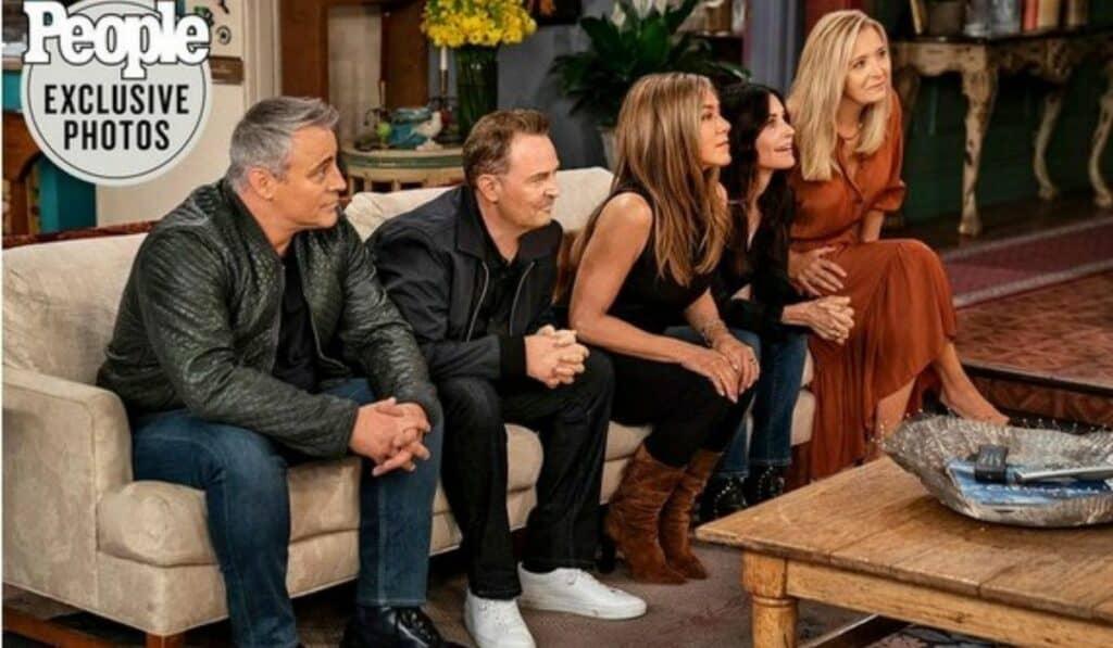 La tan esperada serie 'Friends: The Reunion' se estrenara el 27 de mayo