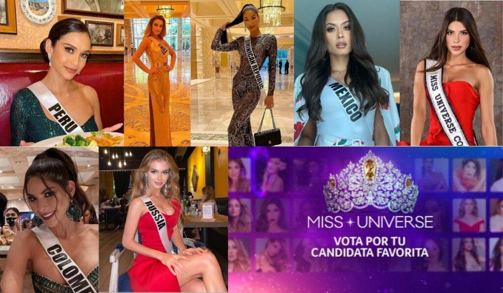 Latinas figuran en las candidatas favoritas para el Miss Universo 2020