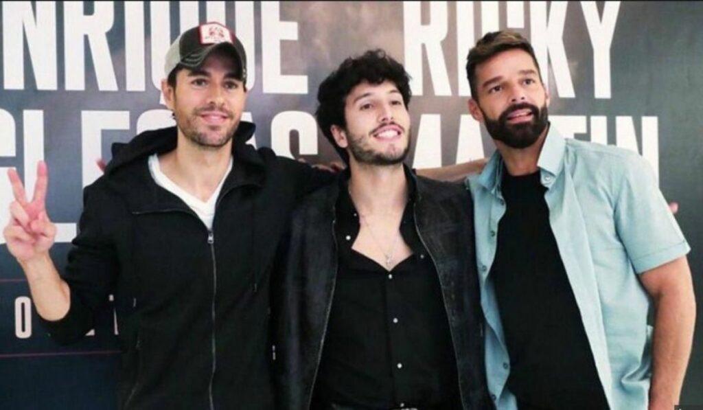Ricky Martin y Enrique Iglesias realizaran una gira junto a Sebastián Yatra