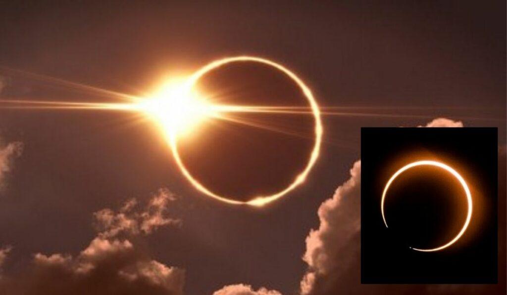 Eclipse anillo de fuego: La Luna estará bloqueando de forma parcial al sol