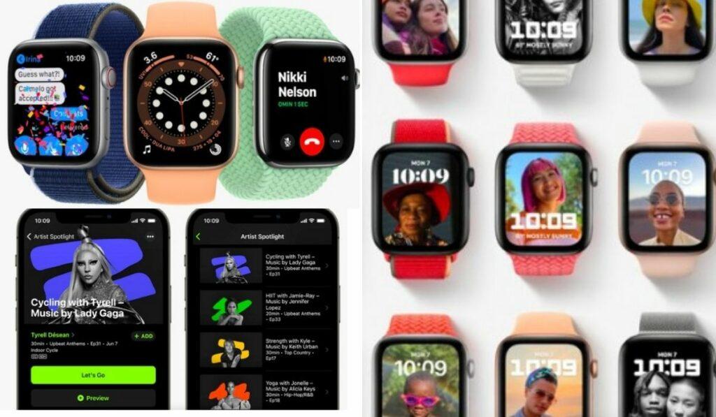 El nuevo reloj digital de Apple el WatchOS 8 con nueva esfera