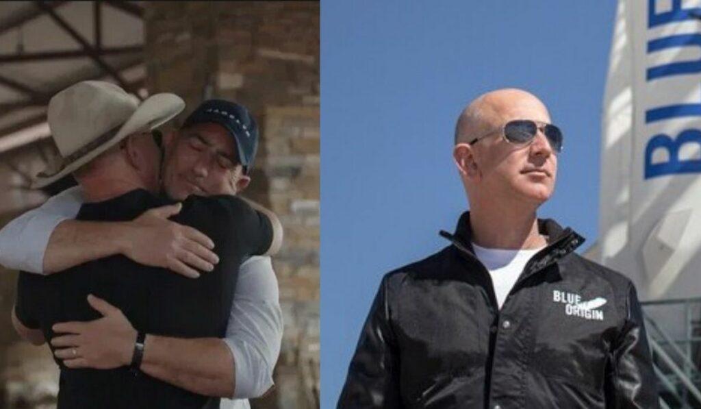 Los hermanos Jeff Bezos y Mark Bezos viajaran al espacio en julio