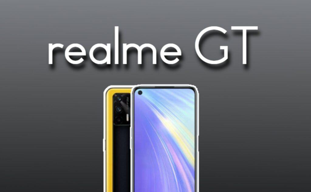 Realme GT nuevo smartphone de gama alta de Realme