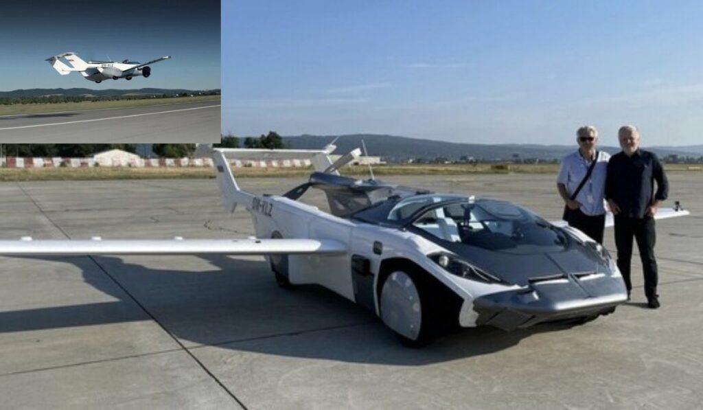 AirCar: El auto volador realizo su primer vuelo interurbano