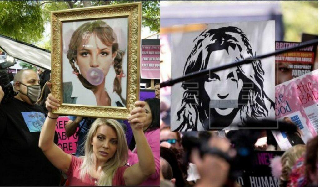 Cantante Britney Spears llorando acusa a su padre en nueva audiencia