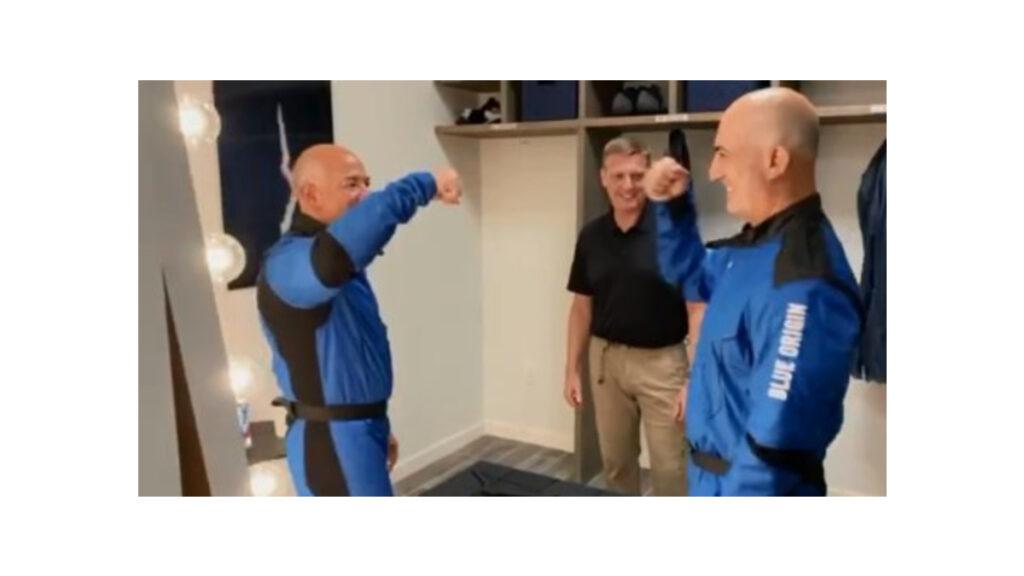 Jeff Bezos viajará al espacio a bordo de la New Shepard