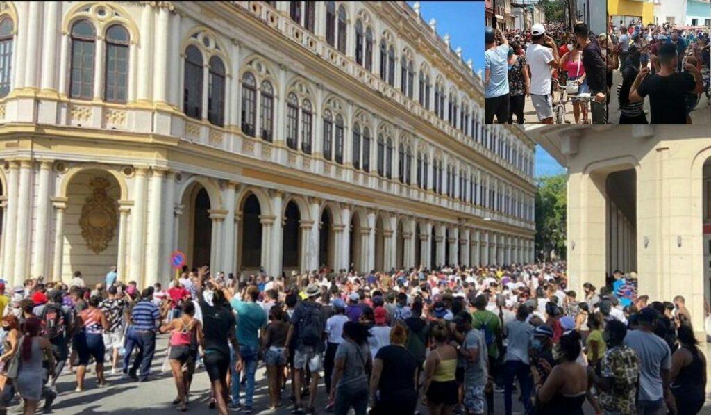 Masivas protestas en Cuba: Luego de 60 años Cuba pide libertad en las calles