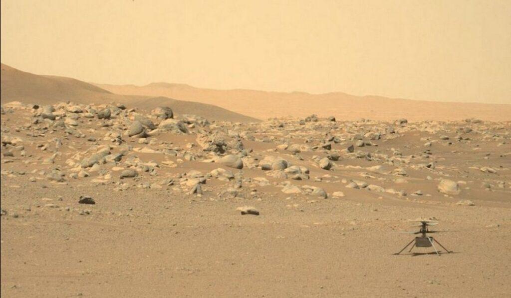 Noveno vuelo del Ingenuity rompe otro record histórico en Marte