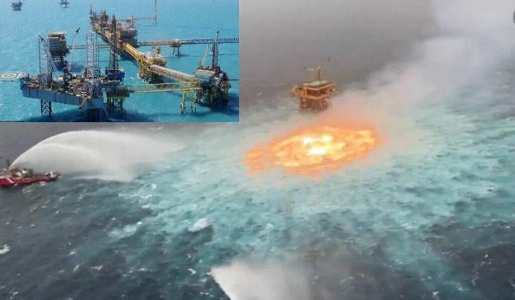 Pemex: Una fuga de gas se registró en el golfo de México sin lesionados
