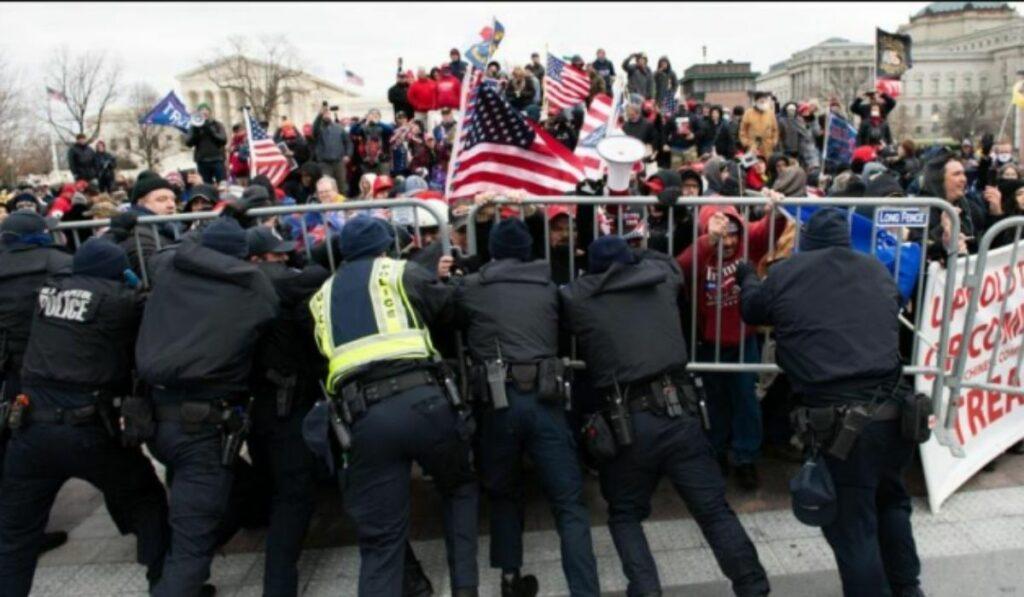 Cuatro policías se han suicidado en EEUU luego del 6 de enero