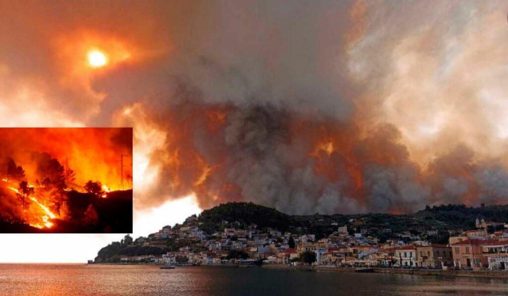 Grecia y Turquía registran 190 fuegos en solo una semana