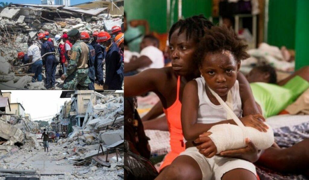Haití clama la ayuda humanitaria en algunas aldeas luego del terremoto