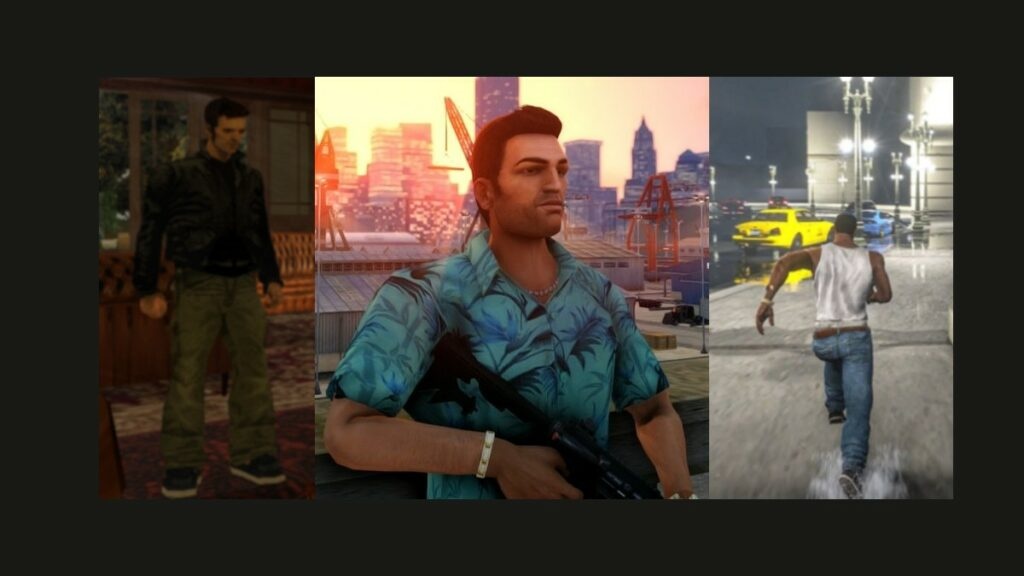 tres clásicos de GTA