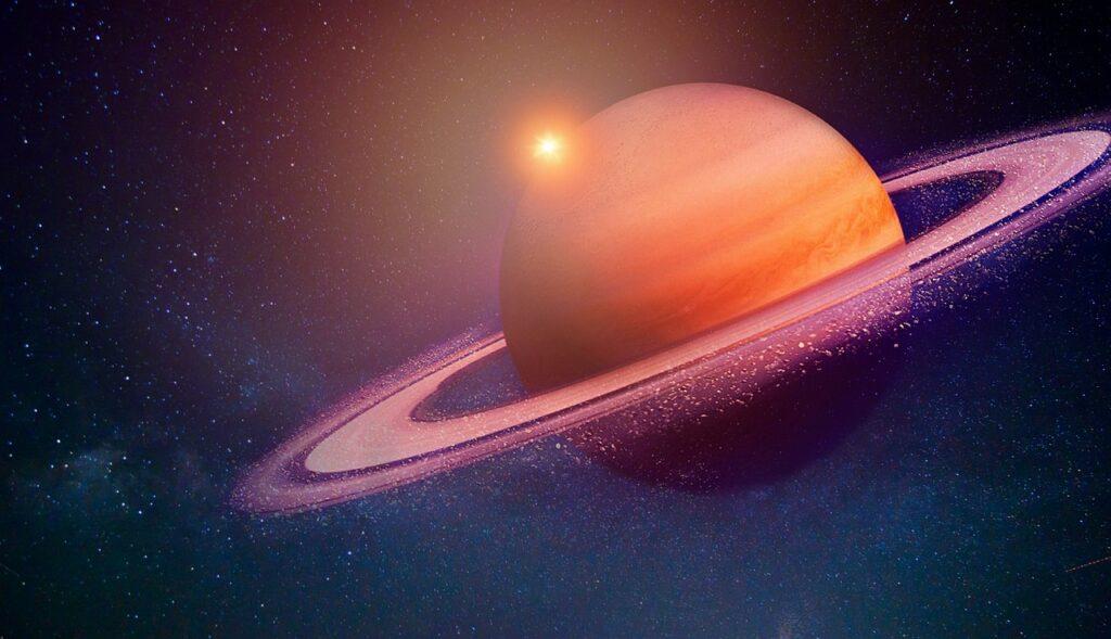el núcleo de Saturno