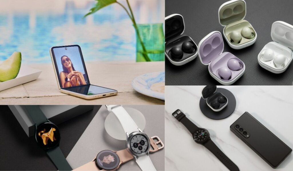 Samsung lanza un amplio catalogo de teléfonos plegables y relojes