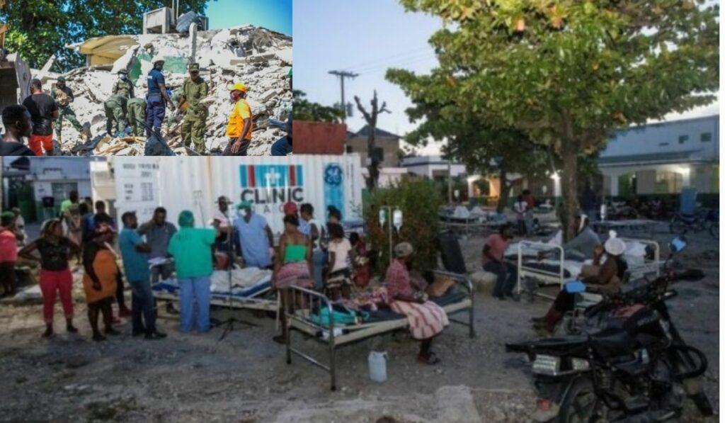 Terremoto en Haití suma después de 24 horas más de 1.297 muertos