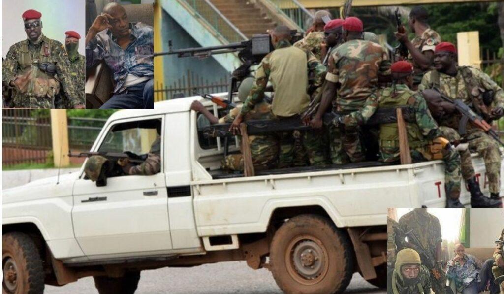 Detienen al presidente Alpha Conde en golpe de estado en Guinea