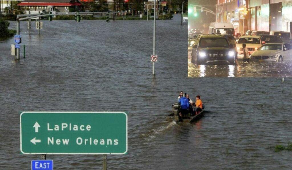 Estado de emergencia en Nueva York por lluvias fuertes causadas por Ida