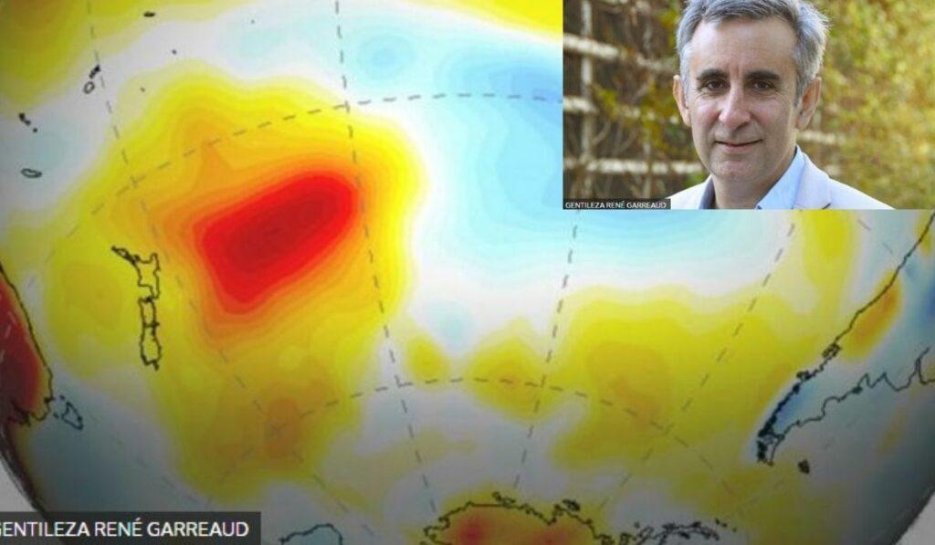 Estudio revela que 'Blob' contribuye a la megasequía en Argentina y Chile