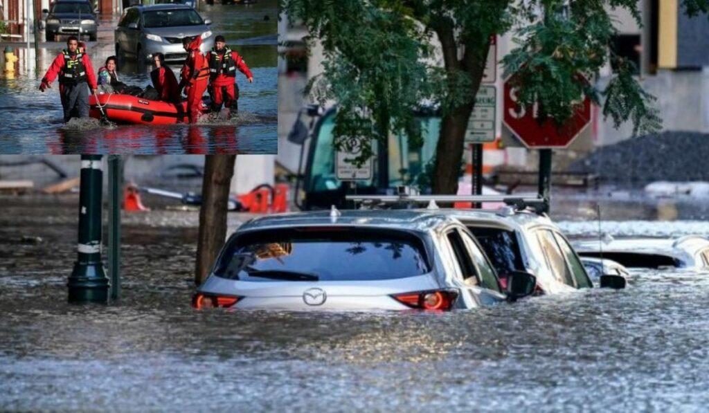Las inundaciones en EEUU dejaron 46 muertos en 6 estados