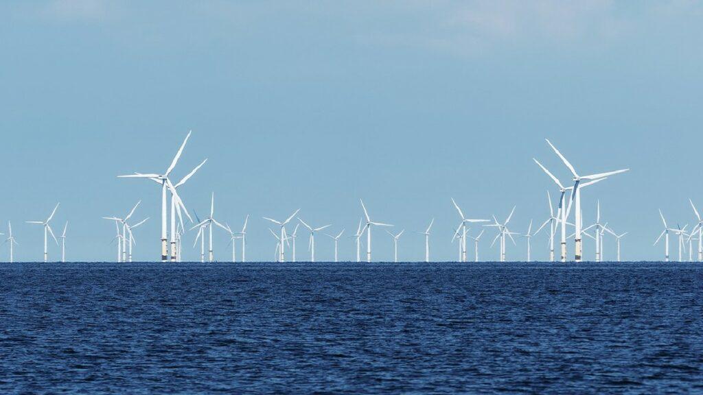 novedoso parque eólico marino en Dinamarca